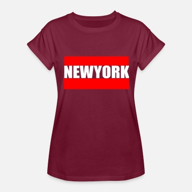 Newyorker NEWYORK - Women's Relaxed Fit T-Shirt