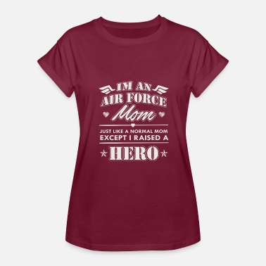 Proud Airforce Mom Airforce Mom - Women's Relaxed Fit T-Shirt