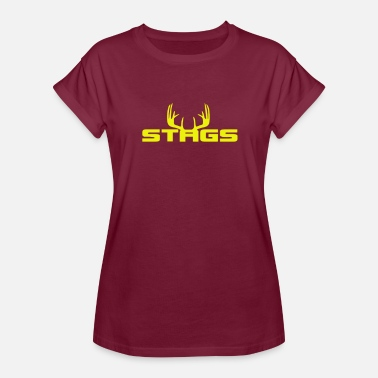 Stag Animal Stag - Women's Relaxed Fit T-Shirt