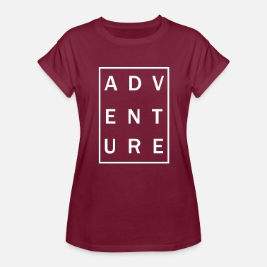Adventure Line Adventure (Line) - Women's Relaxed Fit T-Shirt