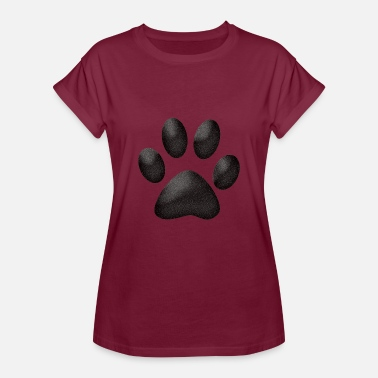 Cat Paw Funny cat paw lover gift - Women's Relaxed Fit T-Shirt