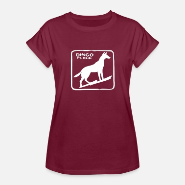 Flour Dingo Flour - Women's Relaxed Fit T-Shirt