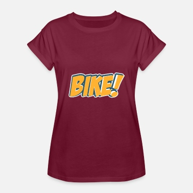 Comic Style Comic Style Bike - Women's Relaxed Fit T-Shirt