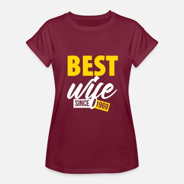 Anniversary 50 Years 50 Years Anniversary Best Wife Birthday - Women's Relaxed Fit T-Shirt