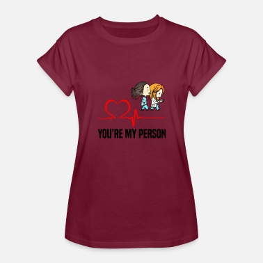 Hospital Greys Anatomy Grey s Anatomy You are my person - Women's Relaxed Fit T-Shirt