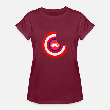 Munch Captain Munch - Women's Relaxed Fit T-Shirt