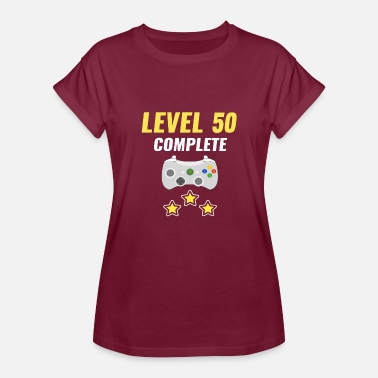 Level 50 Complete Level 50 Complete - Women's Relaxed Fit T-Shirt