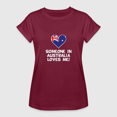 Australia Kids Someone In Australia Loves Me - Women's Relaxed Fit T-Shirt