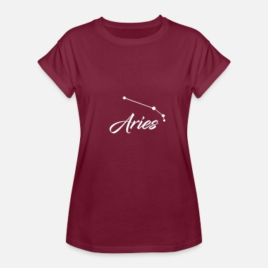 Zodiac Stars Aries Star sign Zodiac - Women's Relaxed Fit T-Shirt