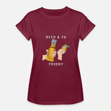 Beer Friday Beer & TQ Friday - Women's Relaxed Fit T-Shirt