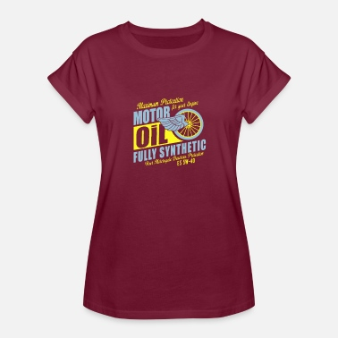Engine-oil Maximum proteetion for your engine motor oil - Women's Relaxed Fit T-Shirt