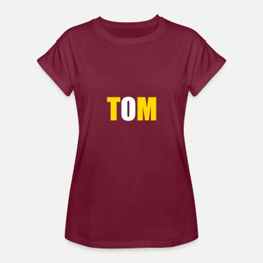 Tom-tom TOM - Women's Relaxed Fit T-Shirt