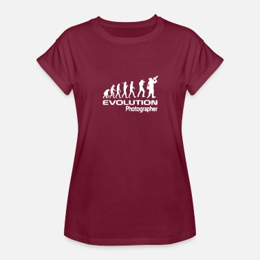 Evolution Of The Photographer Evolution Of A Photographer - Women's Relaxed Fit T-Shirt