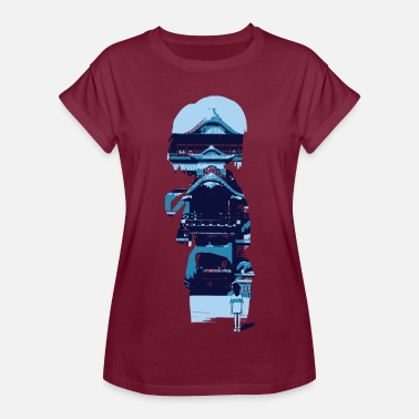 Miyazaki Chihiro looking into her imagination — Winter - Women's Relaxed Fit T-Shirt