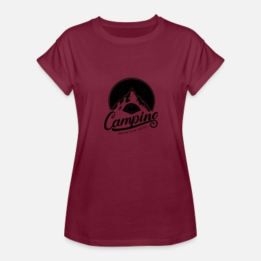 Etno camping Going to the Mountains is going home - Women's Relaxed Fit T-Shirt