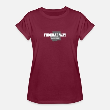 Federal State WASHINGTON FEDERAL WAY US STATE EDITION - Women's Relaxed Fit T-Shirt