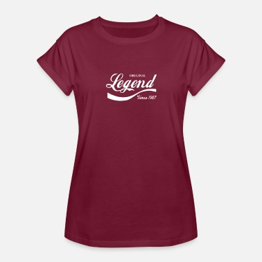 Legend Since 1987 Legend Since 1987 - Women's Relaxed Fit T-Shirt