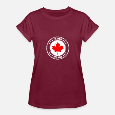 Red Deer I'm from RED DEER - Women's Relaxed Fit T-Shirt
