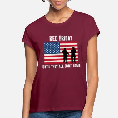 Wounded RED Friday Men's American Apparel - Women's Loose Fit T-Shirt
