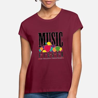 Music Fiesta T-shirt - Women's Loose Fit T-Shirt