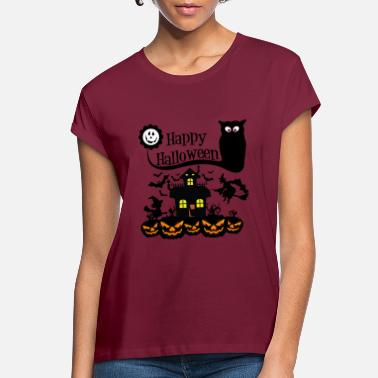 Happy Halloween T-shirt - Women's Loose Fit T-Shirt