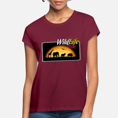 Wildlife T-shirt - Women's Loose Fit T-Shirt