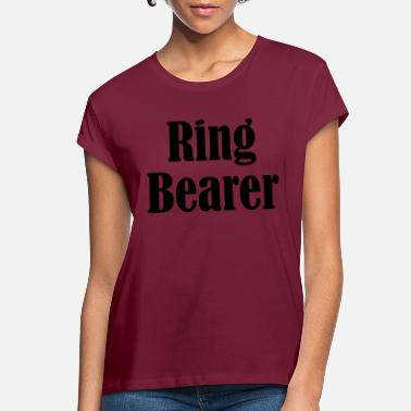 Wedding Day Ring Bearer, Wedding Ring, Wedding Day - Women's Loose Fit T-Shirt