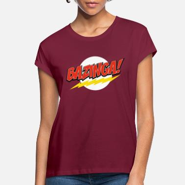 Series The Big Bang Theory Bazinga - Women's Loose Fit T-Shirt