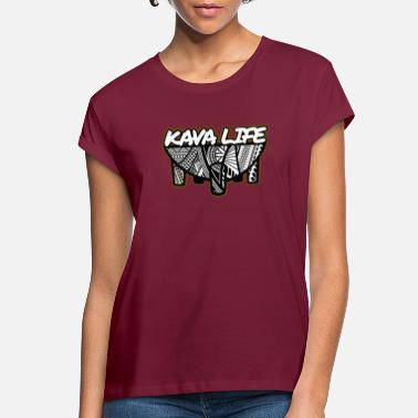 Island Kava Life - Women's Loose Fit T-Shirt