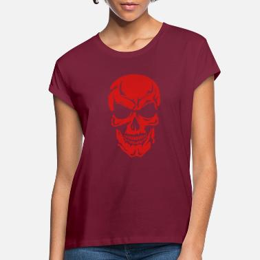 halloween skull 1052 - Women's Loose Fit T-Shirt