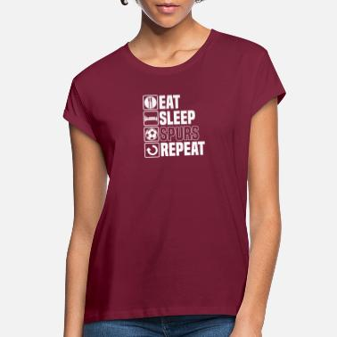 Spurs Eat Sleep Spurs - Women's Loose Fit T-Shirt