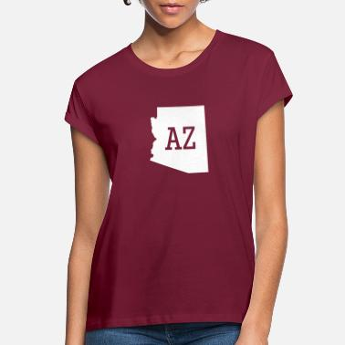 Arizona Arizona State Map AZ - Women's Loose Fit T-Shirt