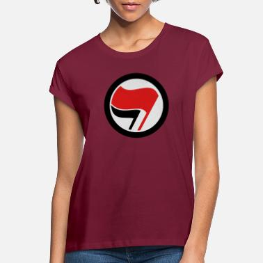 Action antifascist_action - Women's Loose Fit T-Shirt