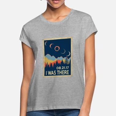 Nasa Starry Night Vintage I was there Solar Eclipse 2017 - Women's Loose Fit T-Shirt