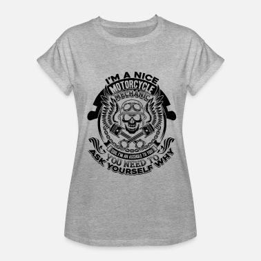 Nice Motorcycles Nice Motorcycle Mechanic Shirt - Women's Relaxed Fit T-Shirt