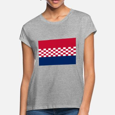 Usta flag croatia design - Women's Loose Fit T-Shirt