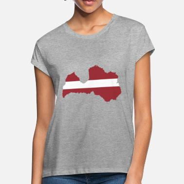 Latvia latvia - Women's Loose Fit T-Shirt