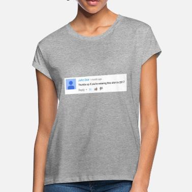 eb6ecd71e Youtube Thumbs up if you're wearing this shirt in 2017 - Women&. Women's  ...
