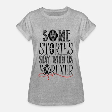 Vampire Diaries Stefan The Vampire Diaries. Some stories.. - Women's Relaxed Fit T-Shirt