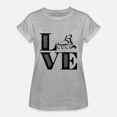 Roller Derby Clothing Roller Derby Love Shirts - Women's Relaxed Fit T-Shirt