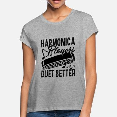 Duet Harmonica Duet Better Shirt - Women's Loose Fit T-Shirt