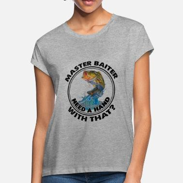 Master Master Baiter Shirt - Master Baiter T Shirt - Women's Loose Fit T-Shirt