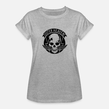 Outer-heaven Outer Skull Heaven - Women's Relaxed Fit T-Shirt