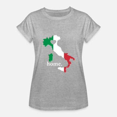 I Love Italy Italy Pride Gift - Italian Proud Love Home - Women's Relaxed Fit T-Shirt