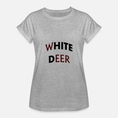 white deer - Women's Relaxed Fit T-Shirt