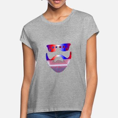 6c0778ba Shop Patriotic Beard T-Shirts online   Spreadshirt