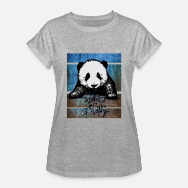 Japan Graffiti panda graffiti love pop art - Women's Relaxed Fit T-Shirt