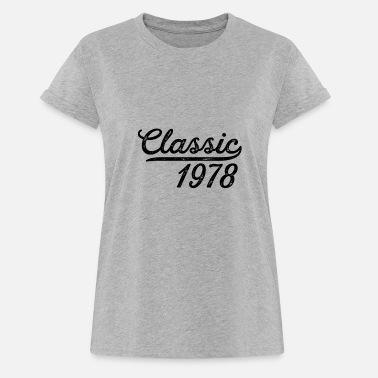 40 Years Old Womens Birthday Gift Classic 1978 Shirt 40th Men Women Year Gifts