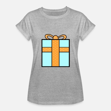 Surprise Box Present Gift Box Birthday Surprise Gift Gift Idea - Women's Relaxed Fit T-Shirt