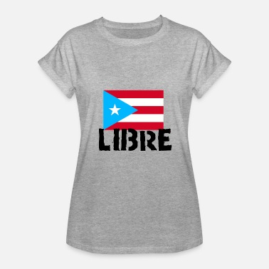 Pr Puerto Rico LIBRE - Women's Relaxed Fit T-Shirt